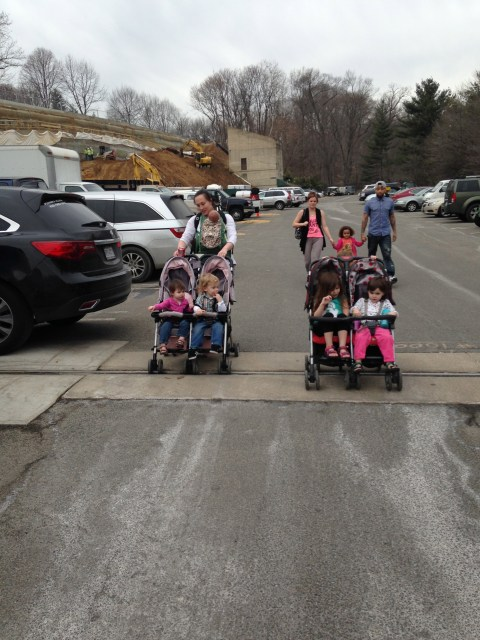 Six kids ready for the zoo