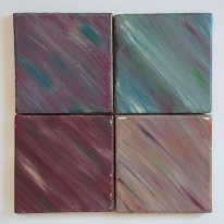 Jewel tone tile set