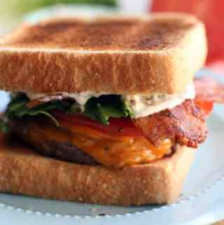 BLT Bacon Burger