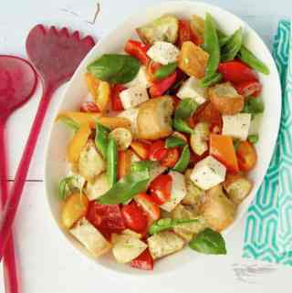 Smoky Vegetable Panzanella
