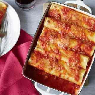 Italian Sausage Cannelloni