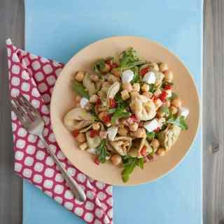 Tortellini and Chickpea Salad