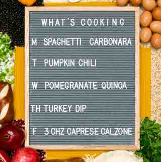 What's Cooking 10/30 – 11/03