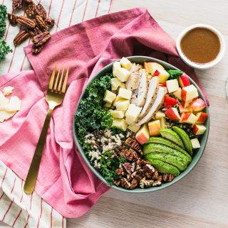Apple Cheddar Grain Bowl
