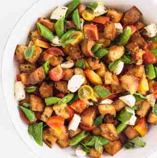 Smoky Panzanella with Vegetables