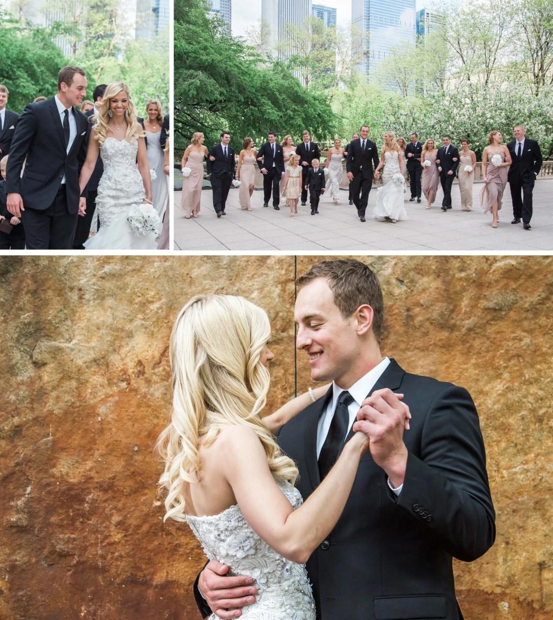 Downtown Chicago bridal portraits _ Brighton Wedding Photographer