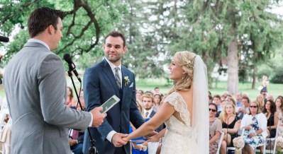 brighton wedding photographer wedding ceremony under tree