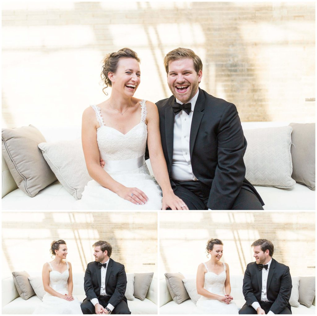 St. Louis Union Station Bridal Couple Wedding Portraits - Brighton Wedding Photographer (1)