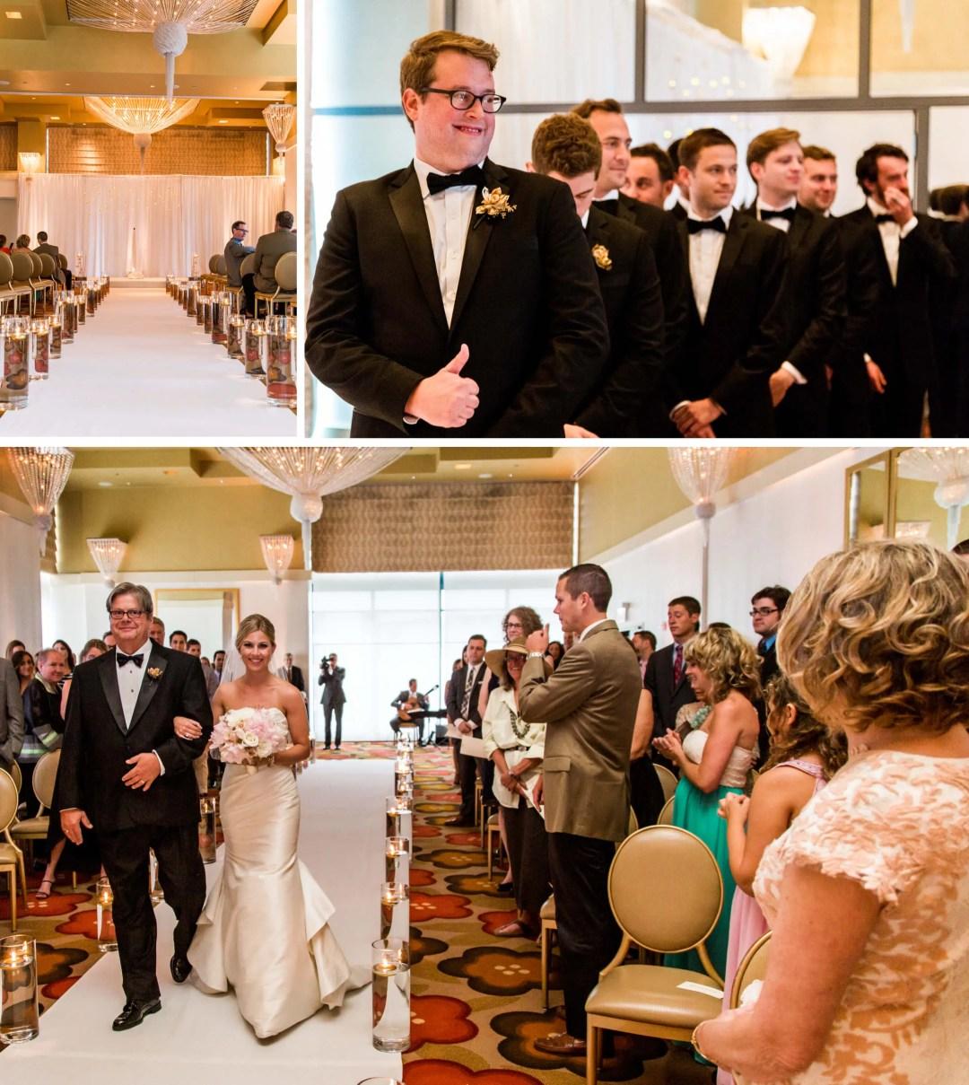 Kimpton Hotel Palomar wedding Ceremony - Sussex wedding photographer