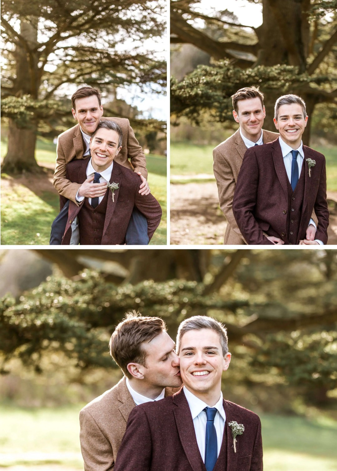 Stamner Park Wedding Photography Couple Portraits Same-Sex Brighton Photographer