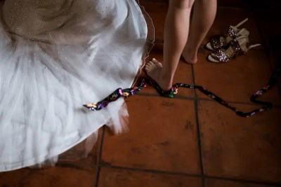 Fossa Mala Wedding Bride Getting Ready