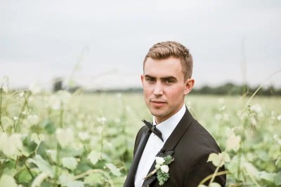 Fossa Mala Wedding Groom Portrait