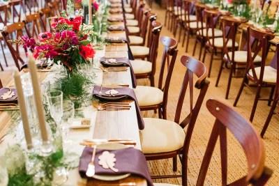 Tipi Wedding Decor in Horsham Private Estate