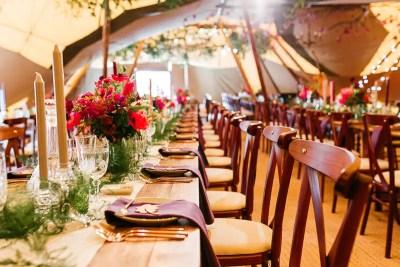 Tipi Wedding Decor in Horsham