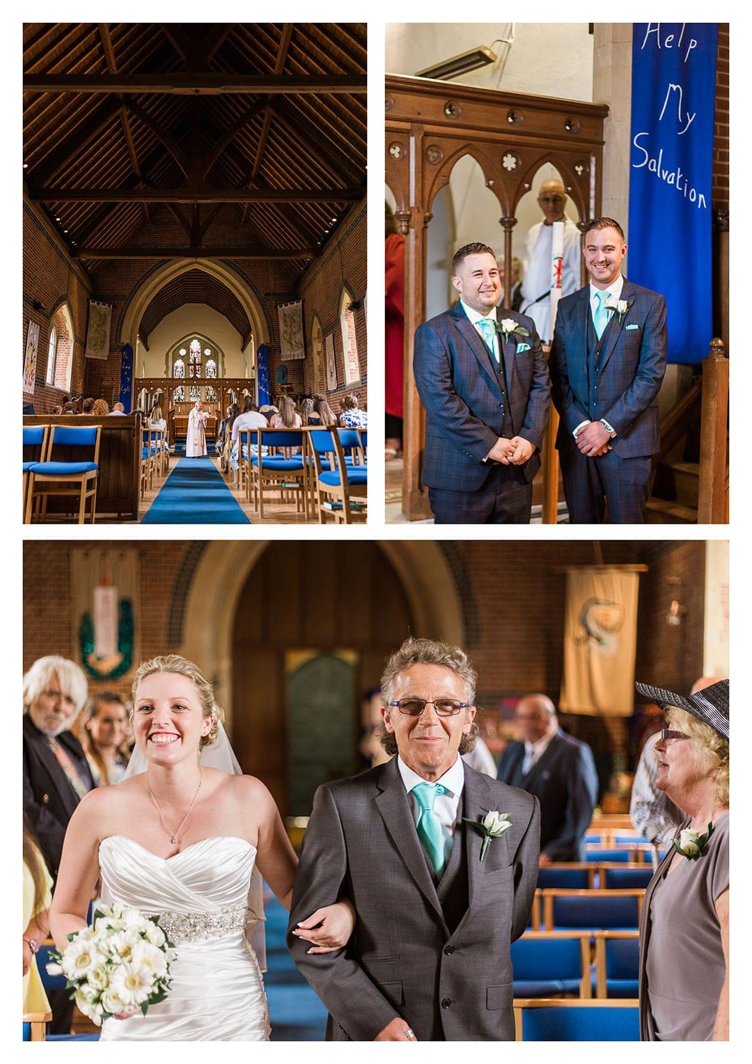 St Michaels Church Partridge Green Wedding Ceremony