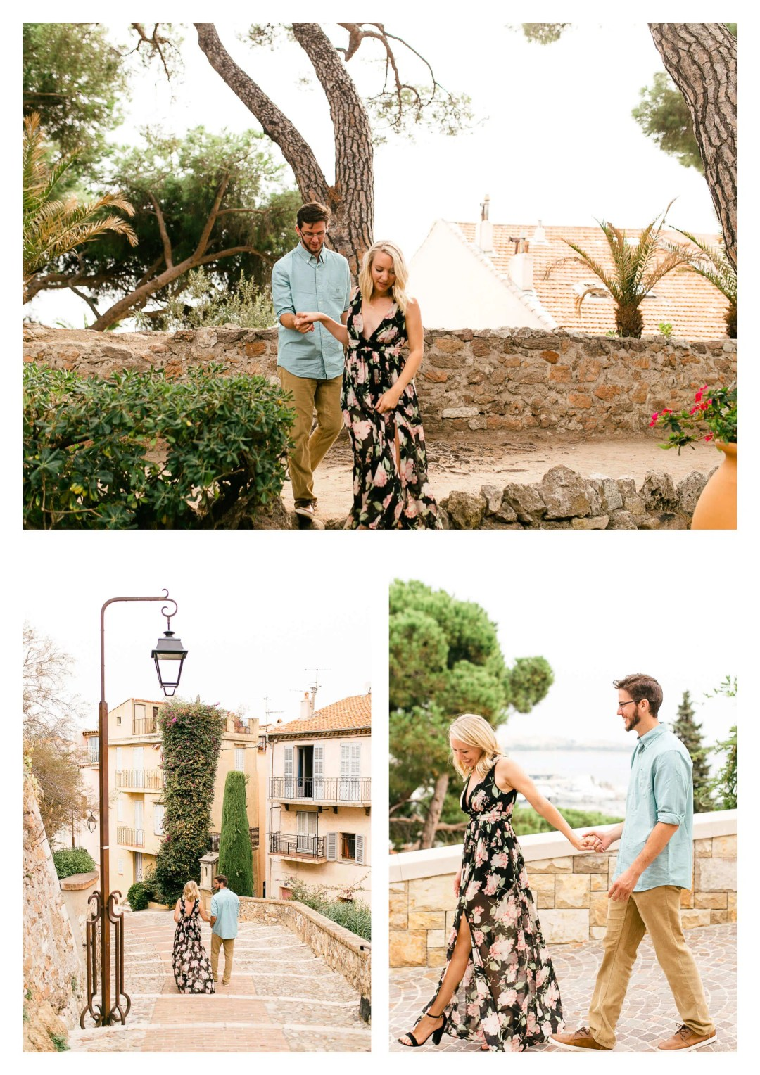 Cannes Old Town French Riviera Suprise Proposal Photography-2
