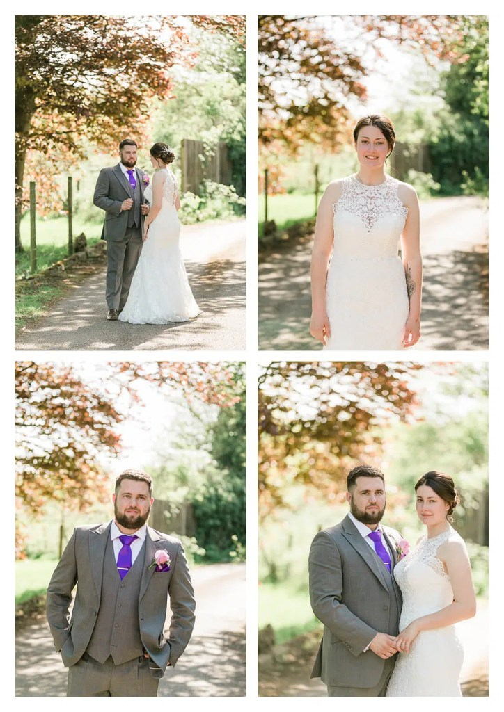 Hickstead Hotel Wedding Couple Portraits in Burgess Hill - West Sussex Photographer