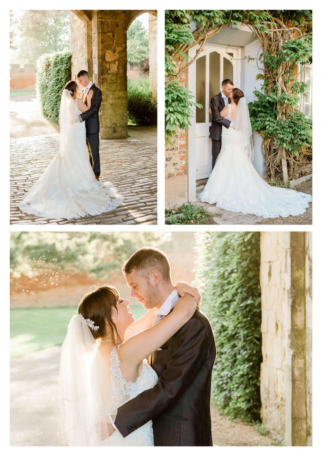 Chichester Cathedral couple portraits golden hour | West Sussex wedding photographer