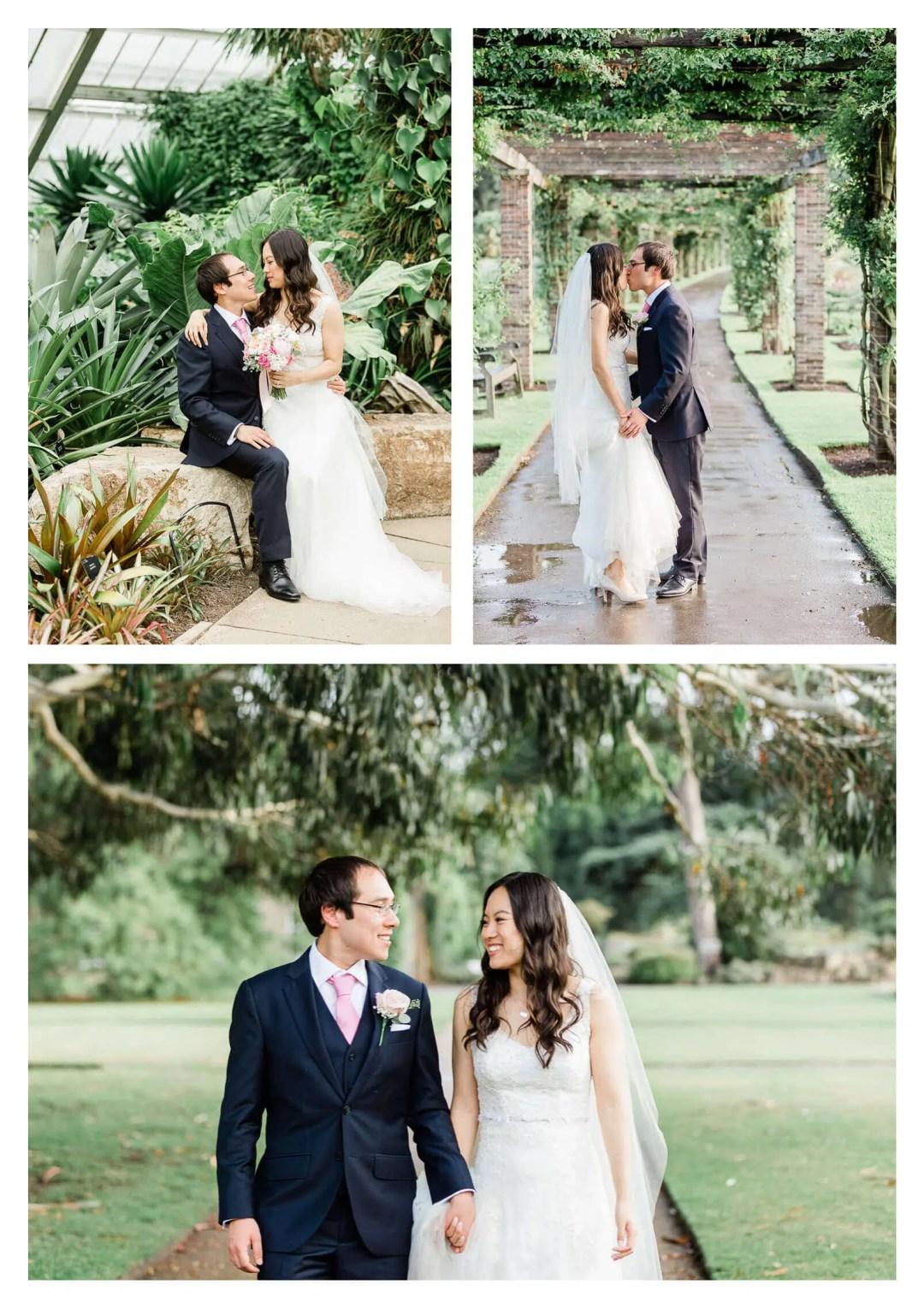 Kew Gardens wedding couple portraits | London photographer