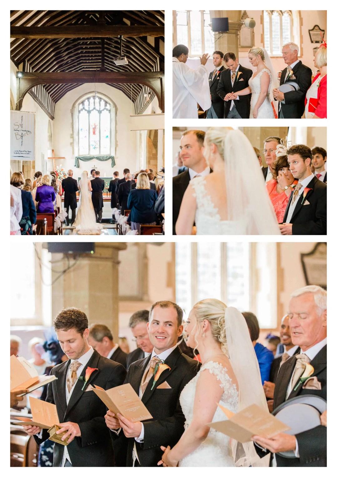 St Bartholomew's Church wedding ceremony in Horley   Surrey Photographer