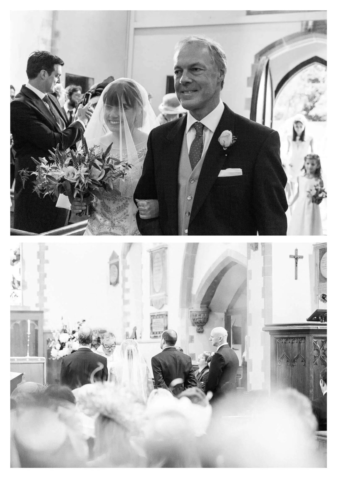 St James Church wedding ceremony in Stedham | West Sussex Wedding Photographer