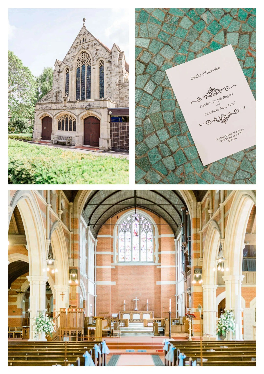 St Marks Church wedding ceremony in Croydon | London wedding photographer
