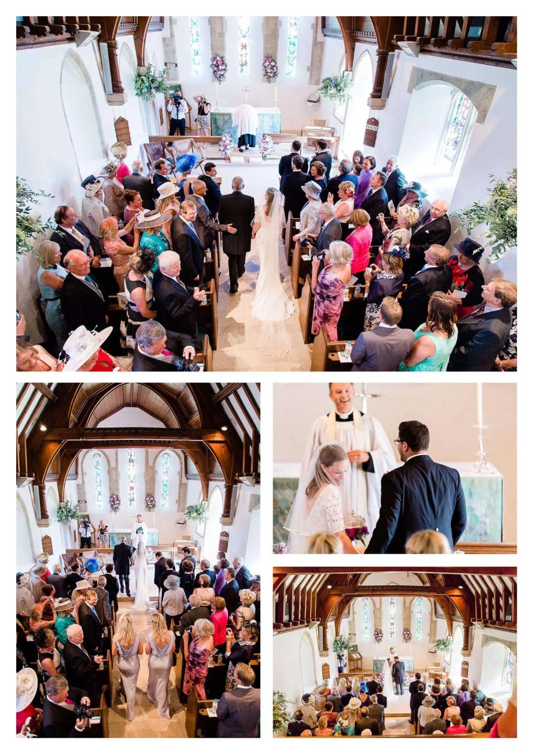 St Nicholas Parish Church wedding ceremony in Chichester | West Sussex wedding photographer