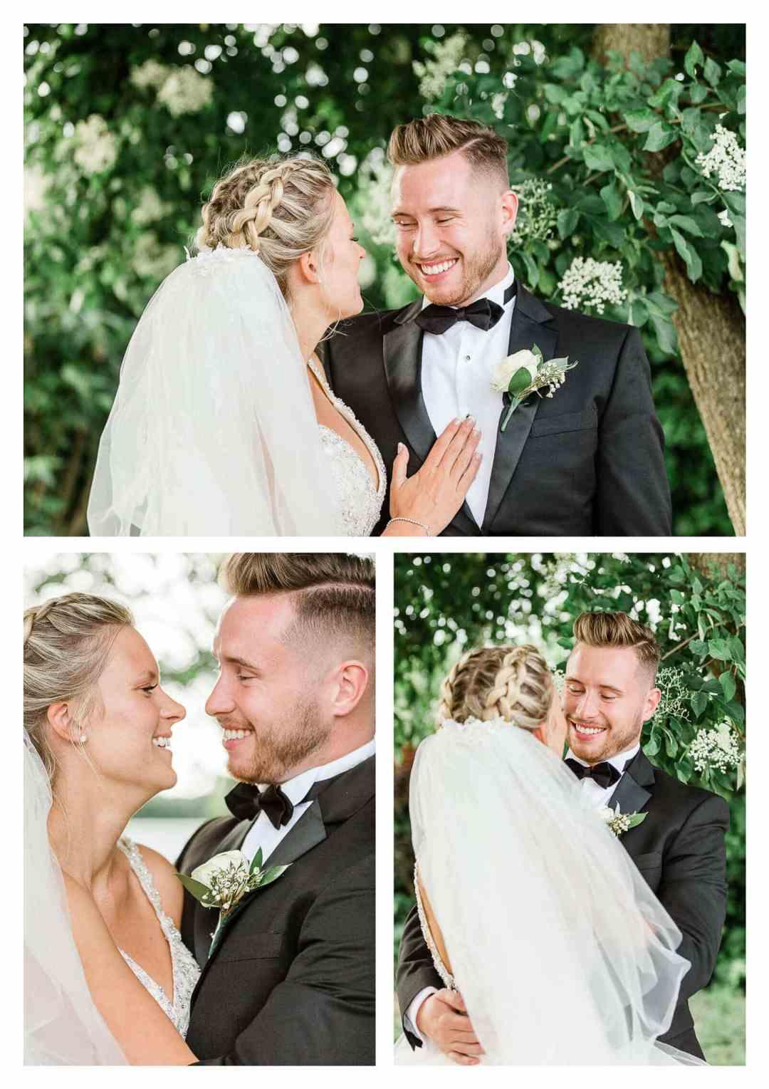 Zinnia Gardens wedding couple in Surrey | Zinnia Gardens photographer
