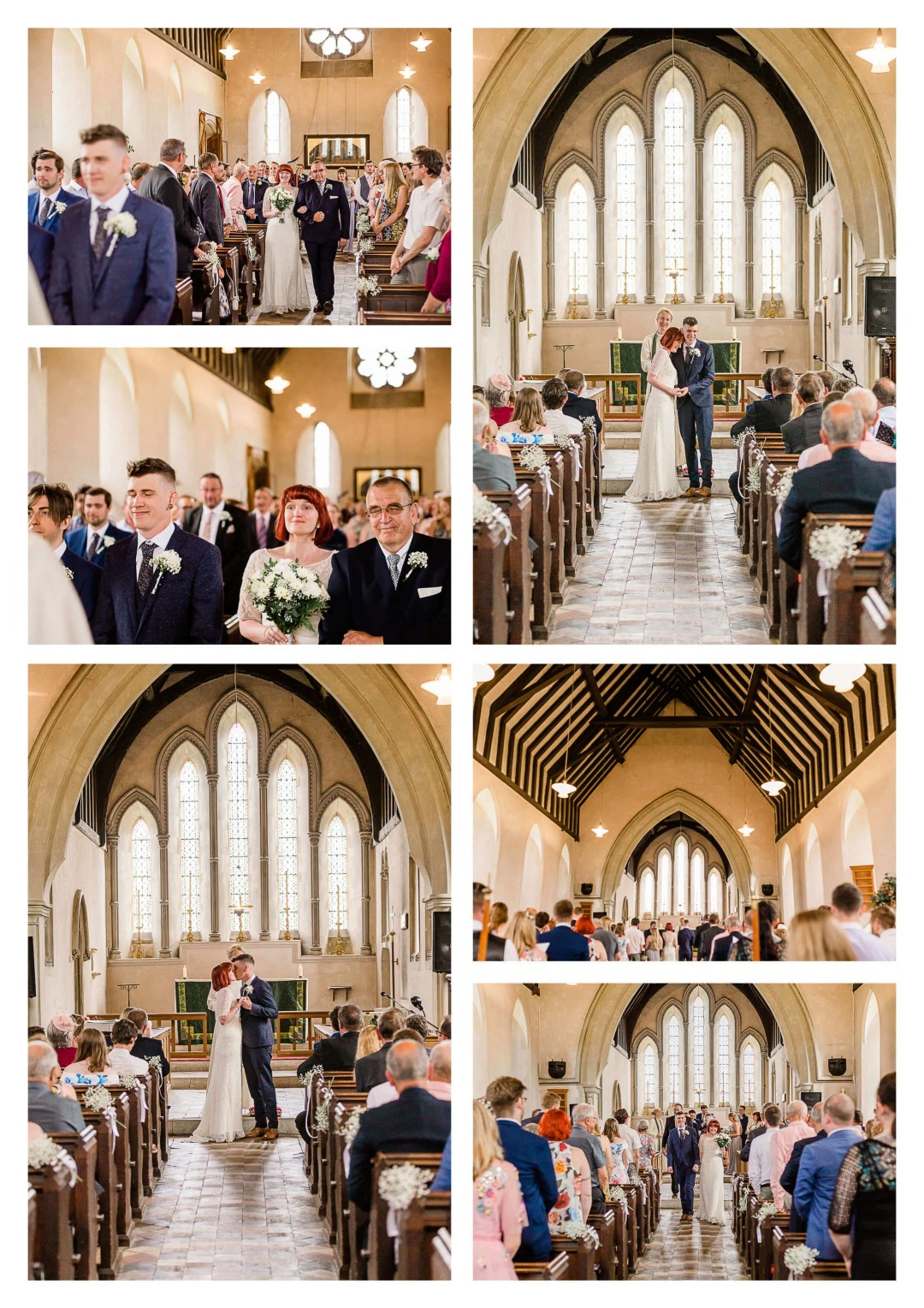 St. Luke's Church wedding ceremony venue in Guildford | Surrey Wedding Photographer
