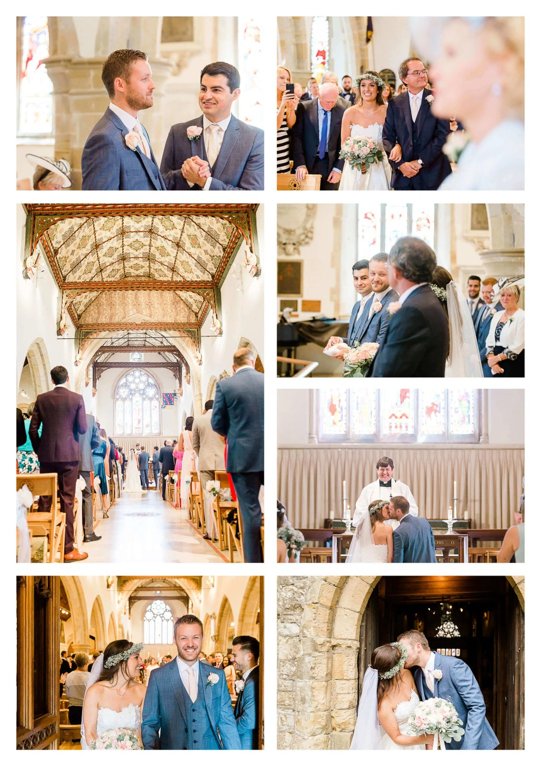 Holy Trinity Church ceremony in Cuckfield Wedding Photographer