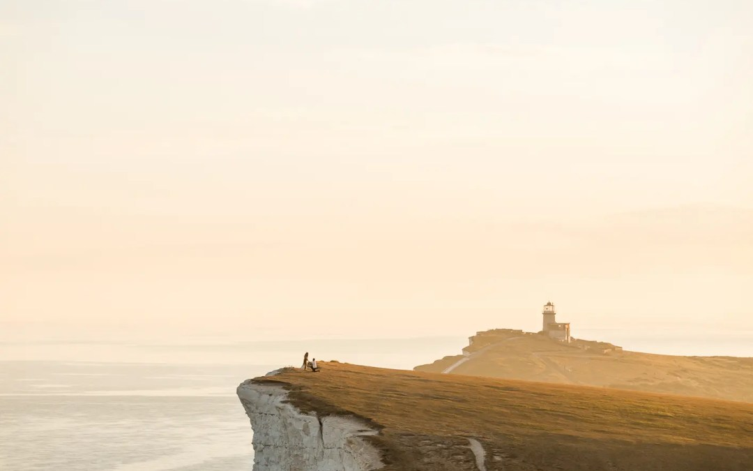 Best places to propose in Brighton for surprise proposal at Beachy Head