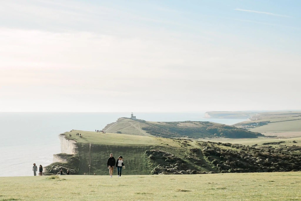 Beachy Head Engagement Photography | Brighton wedding photographer