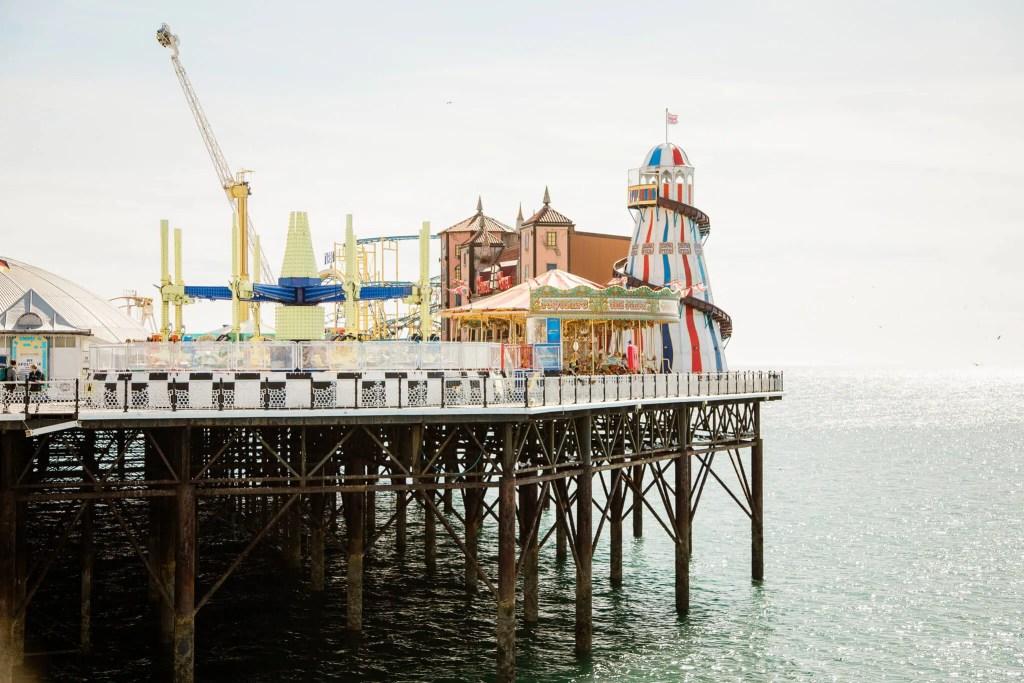 Brighton Pier engagement photography | Brighton engagement photographer