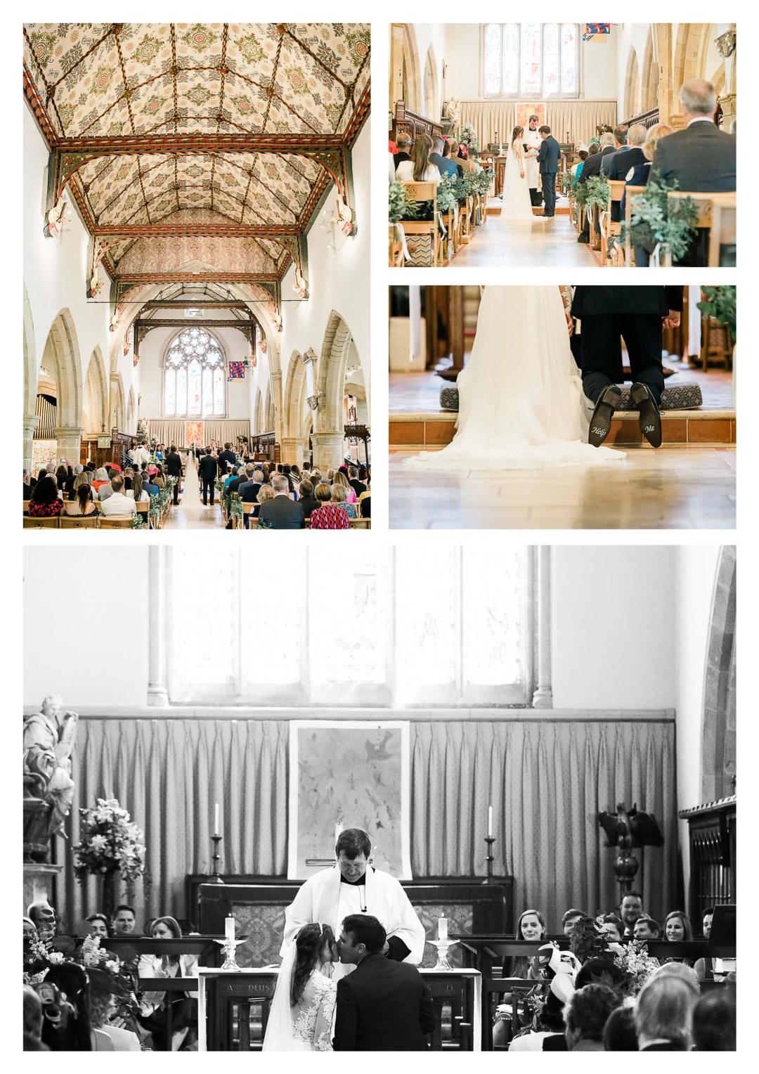 Holy Trinity Church wedding ceremony | Cuckfield Photographer