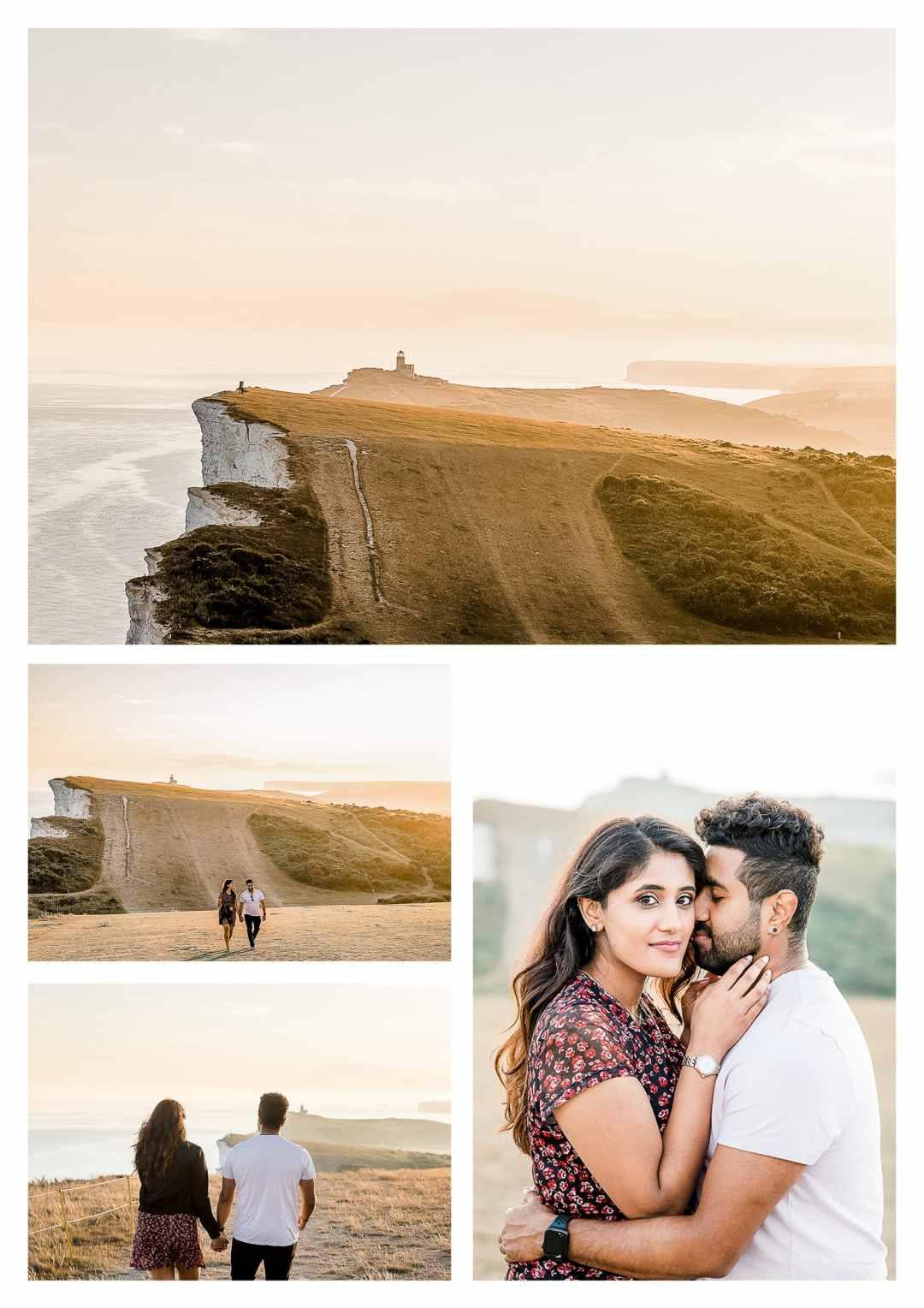 Beachy Head Engagement Photography   Brighton wedding photographer