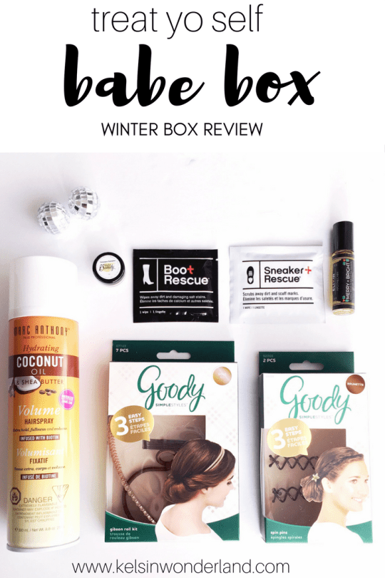Treat yourself with a Winter Babe Box