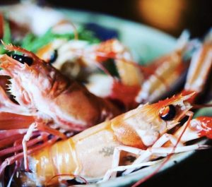 Cooked Langoustine, good enough to eat!