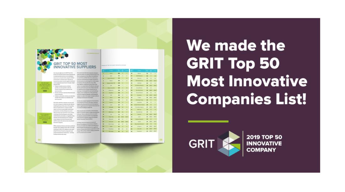 Kelton Global Debuts on 2019 GRIT Top 50 Most Innovative List