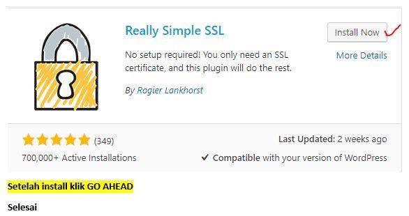 Plugin Really Simple SSL Full Secure