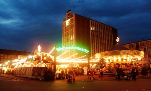 Romantisme di Pasar Natal Jerman
