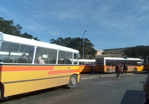 Sistem Transportasi Umum di Malta