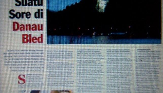 Merekam Romantisme Danau Bled