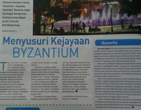 Peninggalan Byzantium di Istanbul