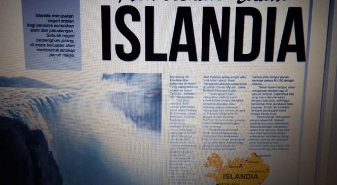 Artikel tentang Islandia di Kedaulatan Rakyat