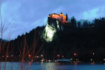 Sore di Tepi Danau Bled