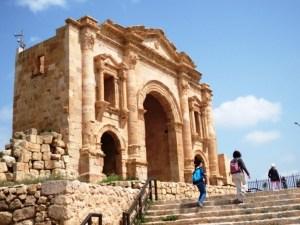 Kota kuno Romawi di Yordania