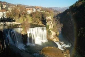 Pliva waterfall Bosnia
