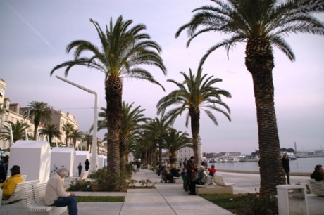 Pantai di Kroasia