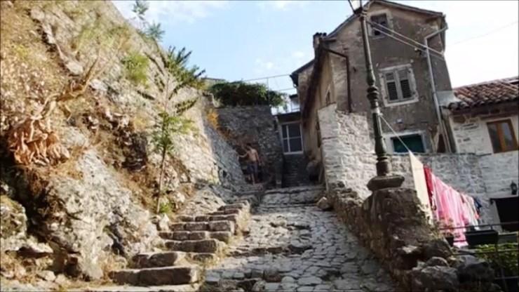 Hiking fortress St. Johan, Sveti Ivan, Kotor