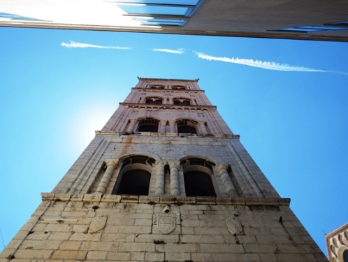 hiking zadar bell tower